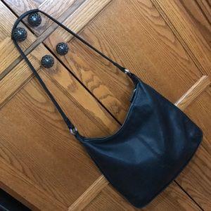 Fossil Black Leather Bag